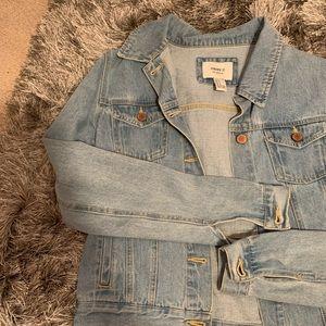 Light Wash Denim Forever21 Jacket